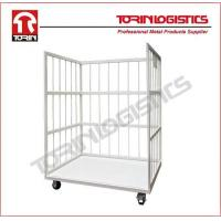 China Hand Cart Moving Transport Warehouse Wire Rolling Security Cage on sale