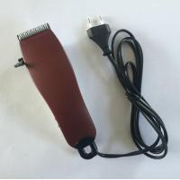 Red Home Pet Grooming Clipper Cat Hair Trimmer 2500rpm Speed ABS POM Material Manufactures