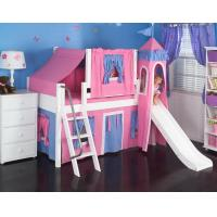 Mid High Loft Beds MY SWEET PRINCESS TWIN CASTLE LOFT BED Manufactures