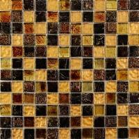 Resin mosaic RS356040 Bright Golden Glass Mixed Resin Mosaic
