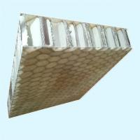 China Fiberglass Aluminum Honeycomb Panels For Stone Composite on sale