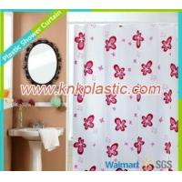 Repellent Printed PEVA Shower Curtain, Housewares Disposable Shower Curtain Liner Manufactures