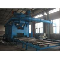 Rust Removal Shot Blast Cleaning Equipment Custom Colors With 11KW Turbine Power Manufactures