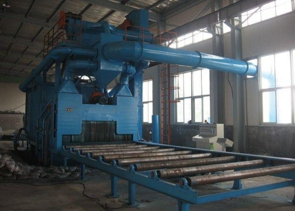 Quality Rust Removal Shot Blast Cleaning Equipment Custom Colors With 11KW Turbine Power for sale