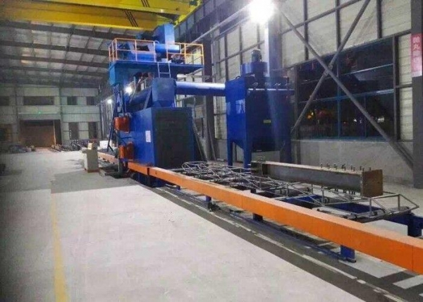 Quality Steel Abrator Blast Cleaning Machine , Dustless Blasting Machine With Steel Grit for sale