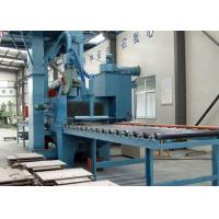 Pass Through Type H Beam Shot Blasting Machine Steel Metal Parts Cleaning Manufactures