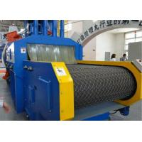 Blue Roller Conveyor Shot Blasting Machine , Automatic Blasting Machine ISO Certificated Manufactures