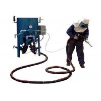 Dry Type Portable Sandblasting Machine With Compressed Air Eco - Friendly Manufactures