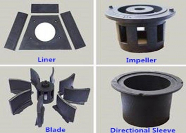 China Roller System Electric Shot Blasting Machine Parts Customized ISO9001