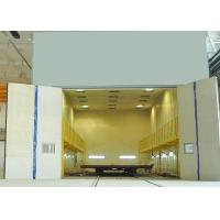 Quality Mechanical Recovery Sandblasting Room For Steel Fabrication Industry for sale