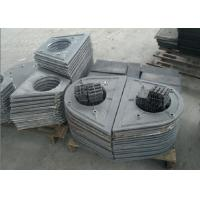Metal Surface Cleaning Shot Blasting Machine Parts Blade / Turbile ISO9001 Manufactures