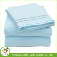 China Custom Pure Cotton Export Hand Embroidered Bed Sheet on sale