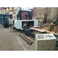 Buy cheap full automatic Sawmill Wood Portable Band Saw Mill Timber Band Saw Machine from wholesalers