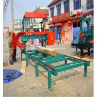 Buy cheap Sawmill Wood Portable Band Saw Mill Timber Horizontal Band Saw Machine from wholesalers
