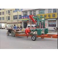 Buy cheap MJ1000E/MJ1000D Horizontal Band Saw Machine Portable Bandsaw Sawmill from wholesalers