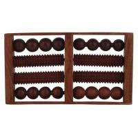 Craft Art India Wooden Roller Foot Massager For Body Stress Acupressure Feet Care CAIHD0025 Manufactures