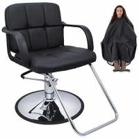 BELLAVIE Cutting Hair Cape w/ Hydraulic Barber Chair Salon Beauty Spa Styling Black Seat Manufactures