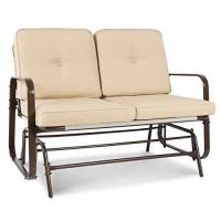 Best Choice Products 2 Person Loveseat Glider Rocking Chair Bench Patio Deck Furniture Manufactures