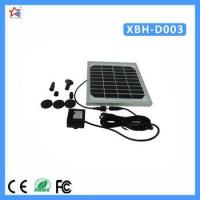 China Cheap Small Solar Pond Pump Fountain 12v DC Water Pump For Garden on sale