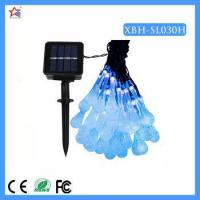 Commercial Outdoor Solar Powered LED String Lights for Christmas Tree Manufactures