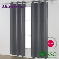 cheap curtains eyelet blackout curtain,window curtains readymade blackout curtain Manufactures