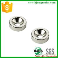 Round shape countersunk magnet Manufactures