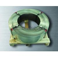 High tensile strength galvanized steel strapping oscillating