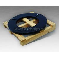 Black pained steel strapping ribbon