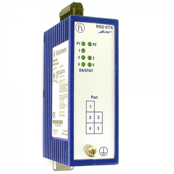 Quality RS2 Switches Hirschmann Industrial SwitchUnmanaged Rail Switch for sale