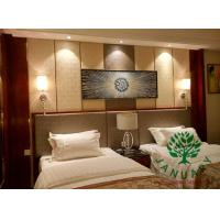 Mahogany Finishing Bed Dresser Tables and Chairs Furniture for Holiday Hotels Manufactures