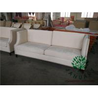 China Nail Head Three Seaters Lobby Sofa Couch on sale