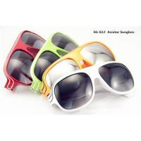 Promotional Avaitor Sunglass With Logo Print Manufactures