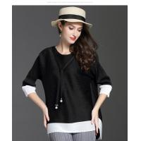 Loose Seven-minute Sleeve T-shirt Manufactures