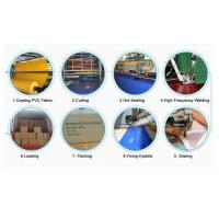Fire Flame Retardant PVC Coated Polyester Fabric , Waterproof Tarpaulin Covers Manufactures