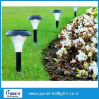 36cm White Garden Solar Lights Street Lamp With Sensor Easy Maintenance Manufactures