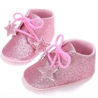 China little star cute glitter leather infant slippers toddler baby newborn oxford shoes booties sale on sale