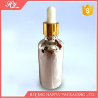 100ml Silvery Glass Bottle with Dropper Manufactures