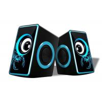 Buy cheap Small Multimedia Computer Speakers , 2.0 Speakers For Pc Nice Design from wholesalers
