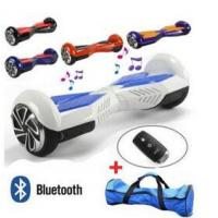 China 6.5inch Two Wheel Self Balancing Electric Scooter With LED Lights & Blutooth Speaker on sale