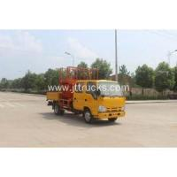 China 2018 new ISUZU mobile car scissor lift vehicle on sale