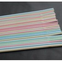 Stripe Flexible Straws Manufactures
