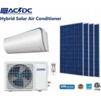 Buy cheap 12000BTU ACDC Solar Assisted Air Conditioning and Solar Powered Room Air Conditioner Solar Heat Pump from wholesalers