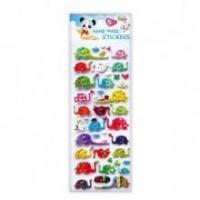 Buy cheap Lovely Color Pets Cats OEM Puffy Stickers from wholesalers
