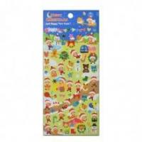 Buy cheap Heart Colorful Drops 3D Epoxy Crystal Stickers from wholesalers