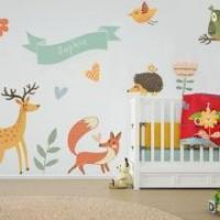 Rocket Clock Color Wall Stickers Manufactures