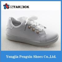 2017 Flat Children Girls Princess Shoes Kids Pearls Bridal Party Prom Dress Shoes Manufactures
