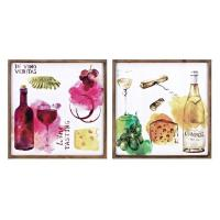 China Vino Wall Decor - Ast 2 A0265599 on sale