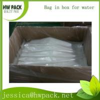 PA laminated custom multiple volumes bag in box for water, juice, cooking oil
