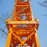 Buy cheap QTZ series Tower Crane China Supply 10 ton QTZ100 (6012) Construction Tower Crane in Building from wholesalers