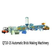 China Construction Machinery and Material QT10-15 Automatic Brick Making Machinery on sale